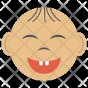 Happy Baby Face Icon