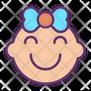 Ihappy Baby Happy Baby Happy Girl Icon