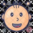Happy Baby Newborn Baby Icon