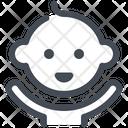 Baby Child Smile Icon