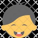 Happy Face Baby Icon