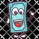 Happy Banknote Emoji Icon