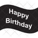 Happy Birthday Wishing Icon