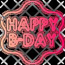 Happy Birthday Icon