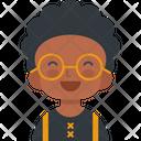 Happy Black Boy Happy Boy Happy Kid Icon