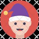 Happy Boy Christmas Icon