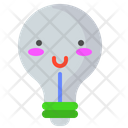 Happy Bulb Happy Bulb Icon