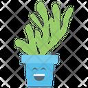 Happy Cactus Icon