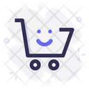 Cart Shop Smile Icon