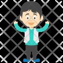 Happy Boy Joyful Icon