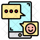 Chat Smartphone App Icon