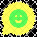 Communication Happy Emoticon Icon
