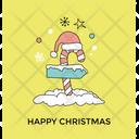 Happy Christmas Icon