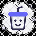 Cup Happy Coffe Icon