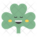 Happy Coriander Face Coriander Face Emoticon Icon