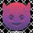 Happy Devil Emoji Icon