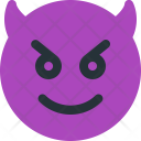 Happy Devil Icon