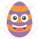 Happy Egg Smiley Egg Emoji Emoticon Icon