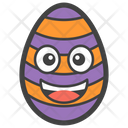 Happy Egg Smiley Icon