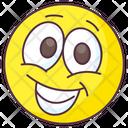 Happy Emoji Happy Expression Emotag Icon