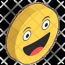 Happy Emoji Emoticon Emotag Icon