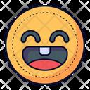 Happy Face Happy Emoticon Icon