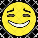 Happy Emoji Happy Face Emoticon Icon