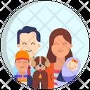 Happy Family Icon