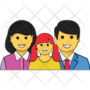 Happy Family Family Home Family Fun Icon