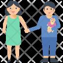 Family Couple Goals Icon