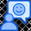 Happy Feedback Comment Good Icon