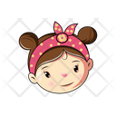 Girl Face Icon