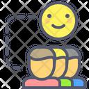 Happy group Icon