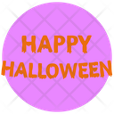 Happy Halloween Scary Icon