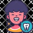 Happy Healthy Teeth Icon