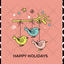 Christmas Ornament Happy Icon