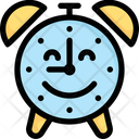 Online Shopping Happy Hour Alarm Icon