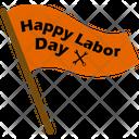 Happy Labor Dya Wrench Flag Icon