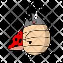 Happy Ladybug Icon