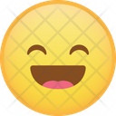 Happy Laugh Emoji Icon