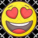 Happy Love Emoji Icon