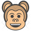 Happy Monkey Icon
