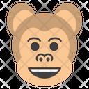 Happy Money Face Emoji Emoticon Icon