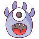Happy Monster Icon
