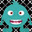 Happy Monster Icon