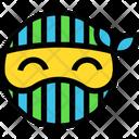 Happy Ninja Smile Icon