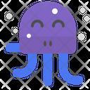 Happy octopus Icon