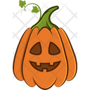 Happy Pumpkin Icon