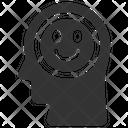 Happy Reaction Mind Icon
