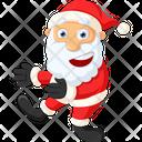 Happy Santa Icon